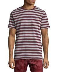 Sovereign Code - Men's Jakov Striped Crewneck T-shirt - Lyst