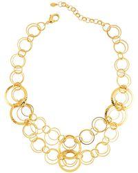 Jose & Maria Barrera - Hammered & Polished Link Necklace - Lyst