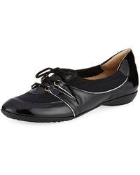 Sesto Meucci - Bonnie Stretch Patent Sneakers Black - Lyst