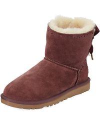 f5ca9210e2b2 Lyst - UGG  dixi Flora  Short Boot in Brown