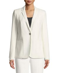 T Tahari - One-button Suiting Jacket - Lyst