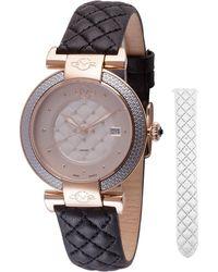 Gv2 - 37mm Berletta Interchangeable Watch Black - Lyst