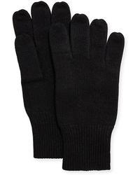 Portolano - Men's Cashmere Jersey Gloves - Lyst