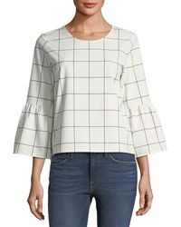 Waverly Grey - Marly Bell-sleeve Top - Lyst