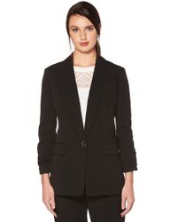 Laundry by Shelli Segal - Ruched Sleeve Jacket - Lyst
