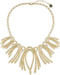 Laundry by Shelli Segal - Loop Statement Bib Necklace - Lyst