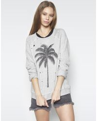 Lauren Moshi - Darby Palm Vintage Pullover - Lyst