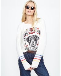 Lauren Moshi - Aggie Bad To The Bone Classic Pullover - Lyst