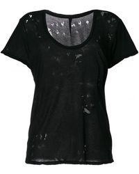 Unravel Crewneck T-shirt Rips