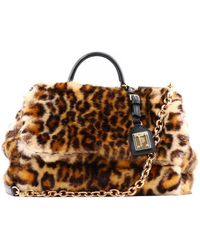 af2a2c7d9bcb Gucci Animalier Leather Top Handle Bag in Black - Lyst