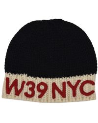 CALVIN KLEIN 205W39NYC - Wool Hat With Patch - Lyst