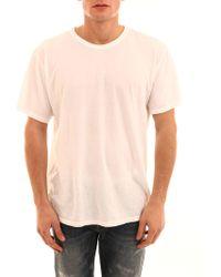 Alexander Wang - T-Shirt Bianca - Lyst