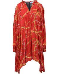 Balenciaga - Vestito In-Out Flou - Lyst