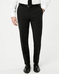 Le Chateau - Tropical Wool Blend Slim Leg Pant - Lyst