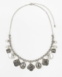 Le Chateau - Charm Collarbone Necklace - Lyst