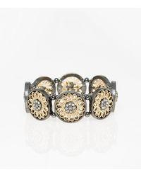 Le Chateau - Filigree Stretch Bracelet - Lyst