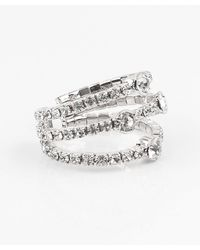 Le Chateau - Open Gem Ring - Lyst
