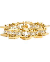 Lele Sadoughi - Slim Stone Satellite Bracelet - Lyst