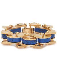 Lele Sadoughi - Striped Slim Satellite Bracelet - Lyst