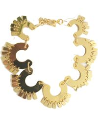 Lele Sadoughi - Golden Piñata Necklace - Lyst