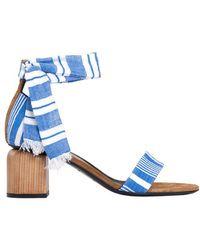 lemlem - Liya Sandal - Blue - Lyst