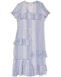 lemlem - Issa Tiered Long Dress - Lyst