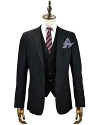 leonard silver | Black 3piece Suit | Lyst