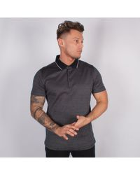 Lagerfeld - 3 Button Polo - Lyst