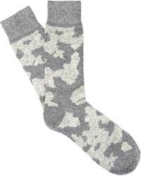 Etiquette | Lots Of Cash Camo Socks | Lyst