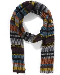 Quinton-chadwick | Float Stitch Striped Scarf | Lyst