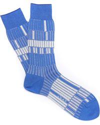 Ayamé - Electro Ribbed Socks - Lyst