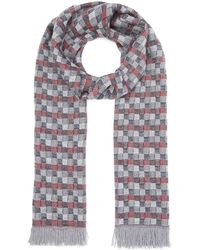 Nick Bronson - Optical All-over Pattern Scarf - Lyst