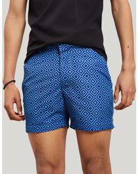 Frescobol Carioca - Angra Classic Swim Shorts - Lyst