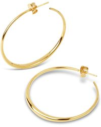 Dinny Hall - Medium Signature Hoop Earrings - Lyst