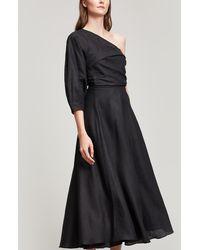 Rachel Comey - Tipple Asymmetric Linen Dress - Lyst