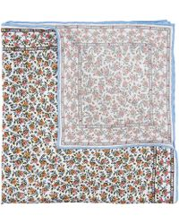 Liberty - Floral Summer Wedding Printed Silk Pocket Square - Lyst