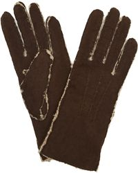 Portolano - Shearling Gloves - Lyst