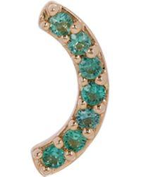 Andrea Fohrman - Gold Emerald Rainbow Stud Earring - Lyst