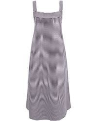 A.P.C. - White Tulum Stripped Dress - Lyst