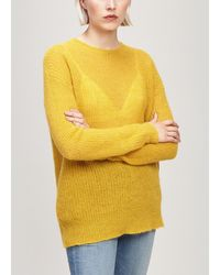Officine Generale Agatha Sweater - Yellow