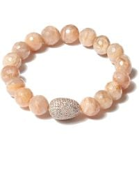 Tai - Brown Beaded Bracelet - Lyst