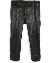 Haider Ackermann - Black Leather Trousers - Lyst
