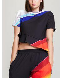 Fyodor Golan - Inverted Rainbow Eyelet T-shirt - Lyst