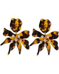 Lele Sadoughi - Daffodil Drop Acetate Earrings - Lyst
