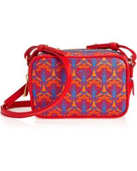 Liberty - Maddox Cross-body Bag In Iphis Coated Canvas - Lyst