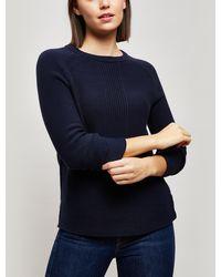 Barbour - Carisbrooke Cotton Sweater - Lyst