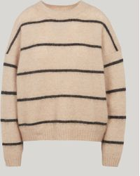Acne Studios - Rhira Thin Striped Knitted Jumper - Lyst