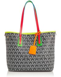 Liberty - Neon Little Marlborough Tote In Iphis Canvas - Lyst