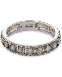 Annoushka - 18ct White Gold Dusty Diamond Eternity Ring - Lyst
