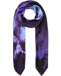 Weston - Purple Mineral Silk Shawl - Lyst
